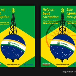 'Petrobrasil' - Oil-free marketing & Critical Mass