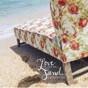 The watercolor patterns for Chelebi furniture