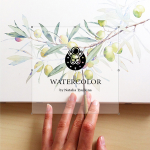 The watercolor illustrations