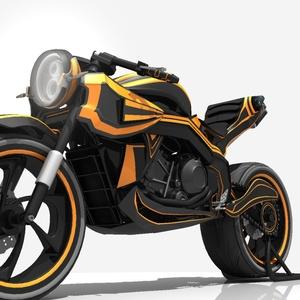 The Sports Bike.