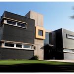 Corrugated Steel, Glass & Concrete
