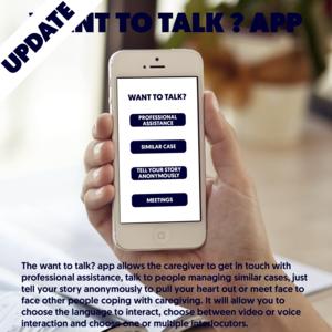 Want to talk? app