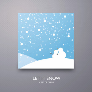Let it snow - 02 - a set of cards