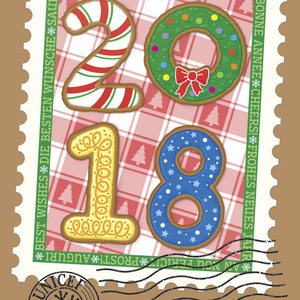 2018 Holiday Cookies Stamp