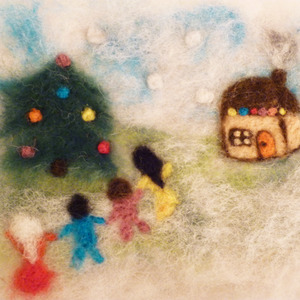 All of us are the children during winter magical holidays