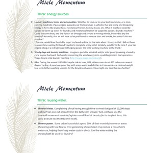 Miele Momentum - an incubator for innovation