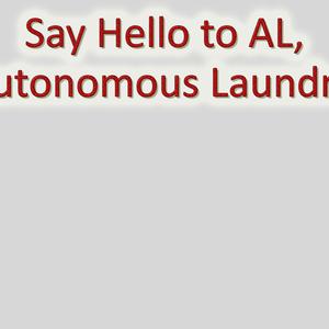 Welcome to AL, the Autonomous Laundrobot! (W.I.P.)