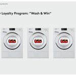 "Laundry Loyalty Program: ""Wash & Win"""