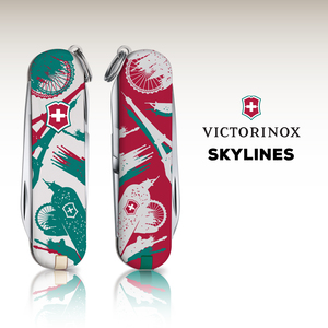 Skylines. Victorinox brings the world together