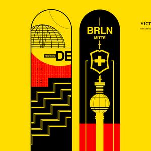 Berlin – No wall, just knife.