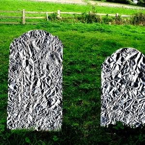 Aluminium tombstones