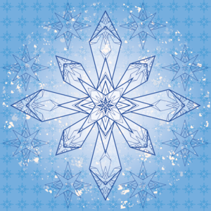 Geometric Snowflake 2