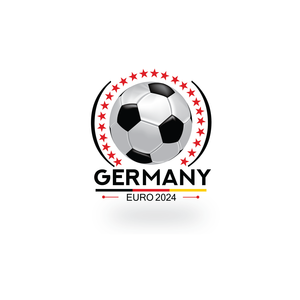 Germany EURO 2024  LOGO DESIGN