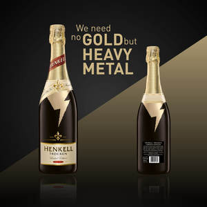We need no gold but heavy metal!