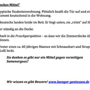 "Treatment ""Falsches Mittel"""