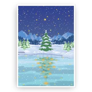 Christmas tree of nature