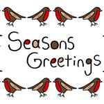 Seasons Greetings Robin