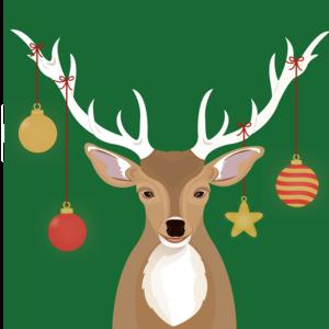 Holiday Cheer Deer