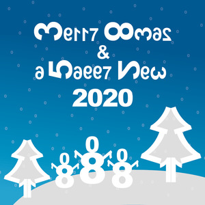 Happy 2020 in numbers