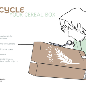 Upcycle your cereal box